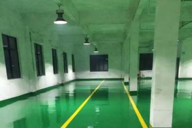 浙江杭州富阳厂房地坪漆施工案例
